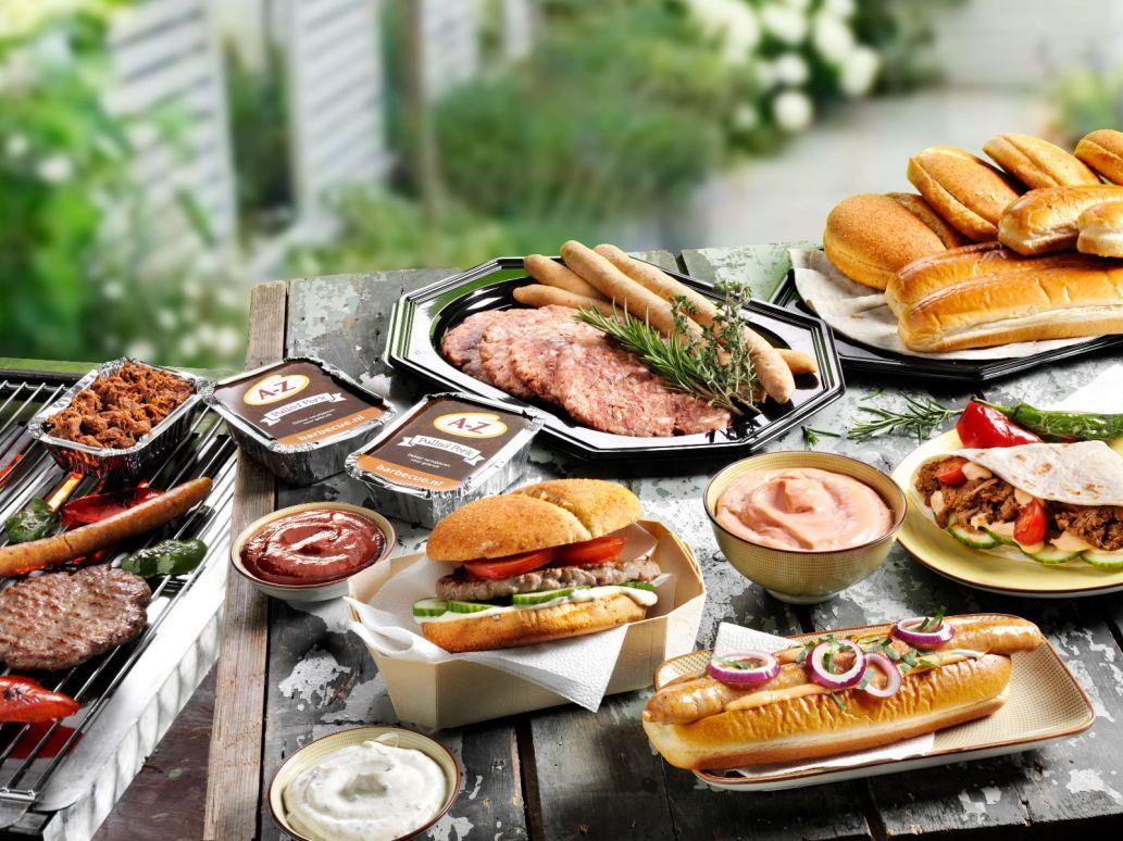 Burgers & Dogs Barbecue Menu
