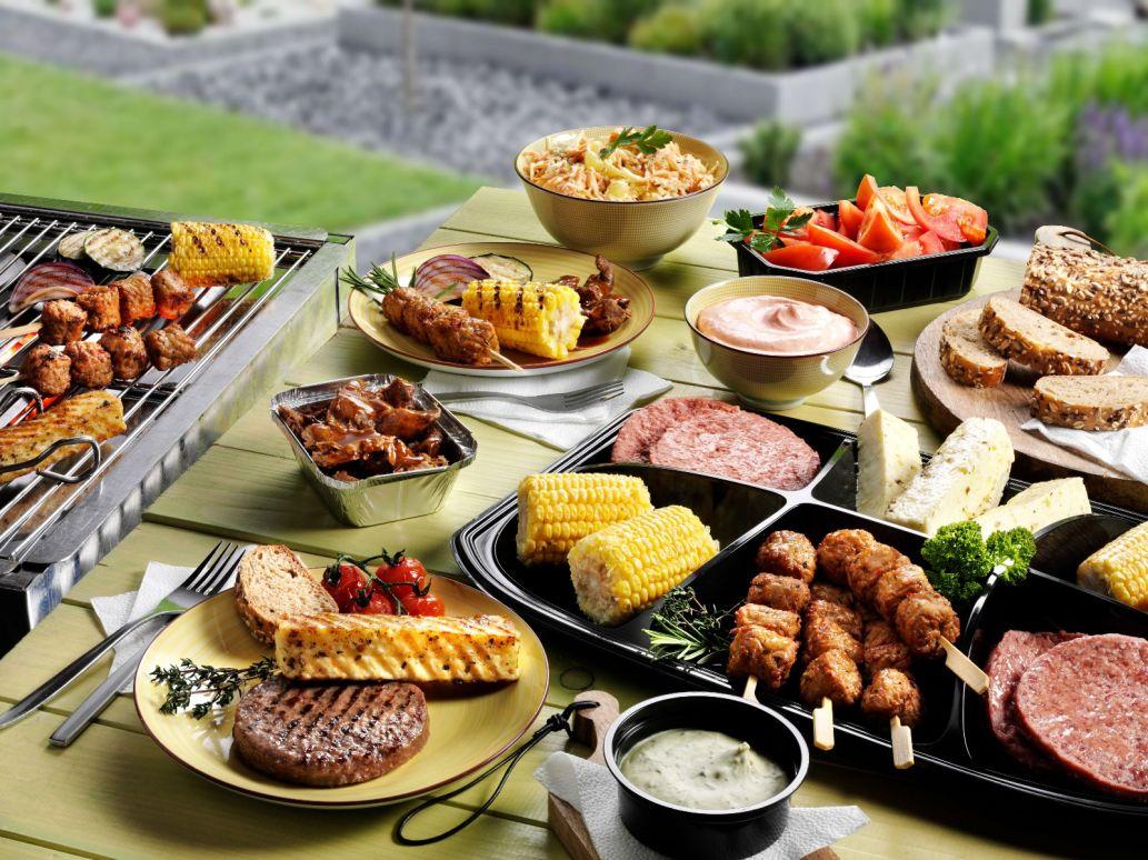 Vegetarisch Barbecue Menu